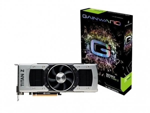 Gainward GeForce GTX Titan Z 12GB