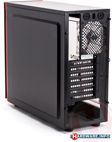 In Win 703 Window Red/Black