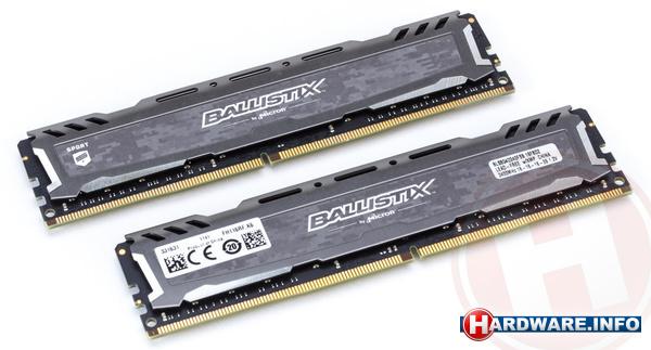 Crucial Ballistix Sport LT 16GB DDR4-2400 CL16 kit