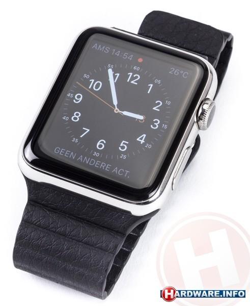 Apple Watch OLED 42mm Black Sport Band Black