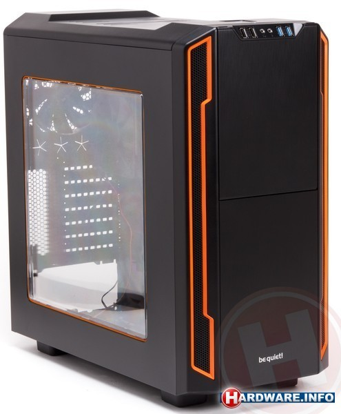 Be quiet! Silent Base 600 Window Orange