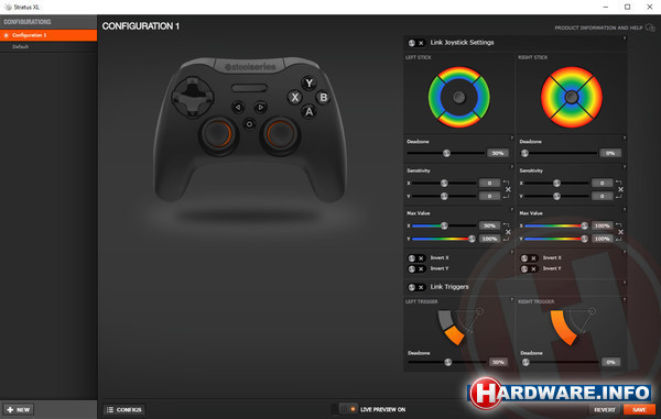 SteelSeries Stratus XL Gaming Controller Android & Windows
