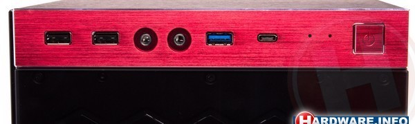 In Win 805C Red