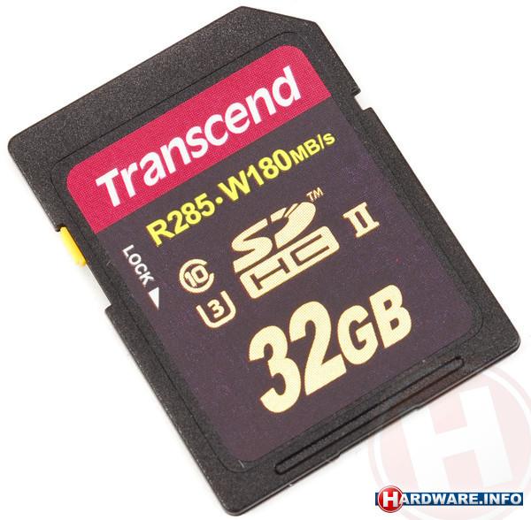 Transcend Ultimate Series SDHC UHS-II U3 32GB