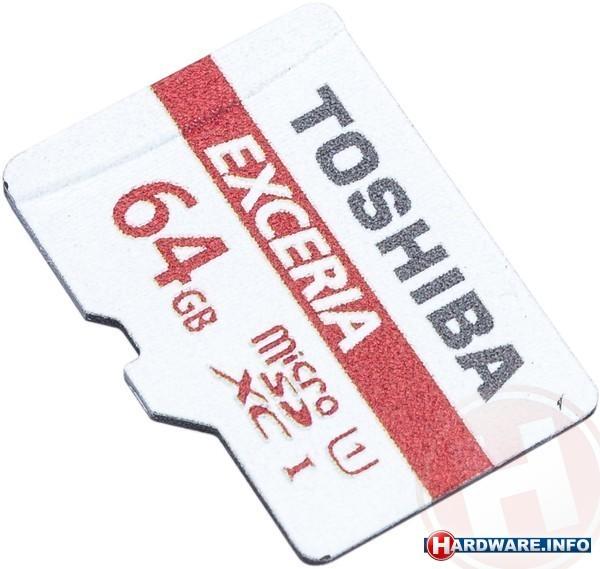 Toshiba Exceria M301 MicroSDXC UHS-I 64GB + Adapter