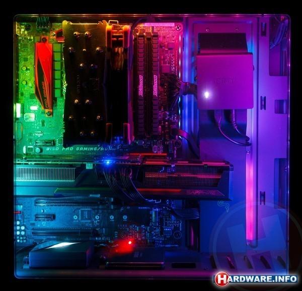 NZXT Hue+ Advanced PC Lighting Black