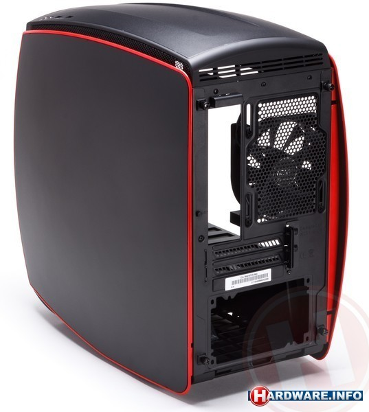 NZXT Manta Window Black + Red