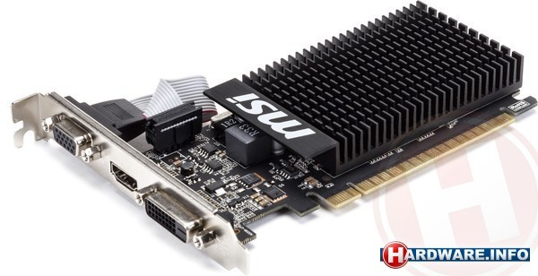 MSI GeForce GT 710 Passive 1GB
