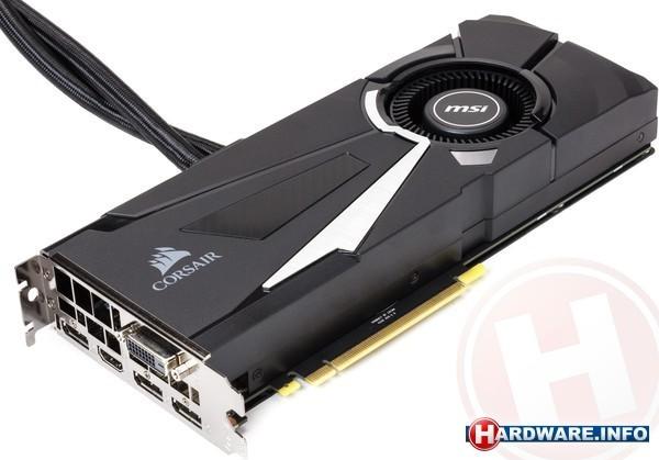 MSI GeForce GTX 1080 Sea Hawk X 8GB