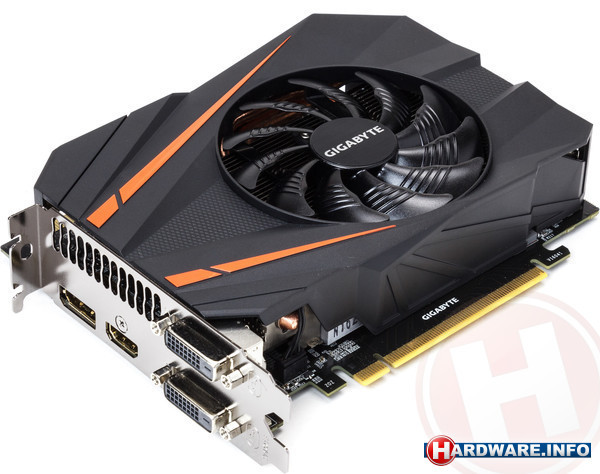 Gigabyte GeForce GTX 1070 Mini ITX OC 8GB