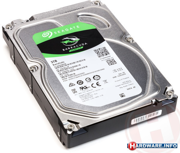 Seagate BarraCuda New 3TB