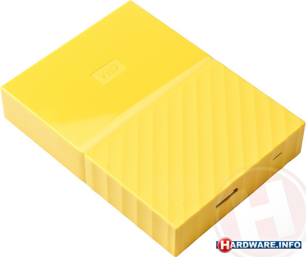 Western Digital My Passport 4TB Yellow