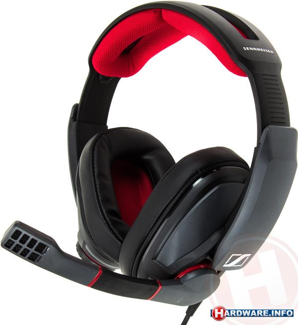 Sennheiser GSP 350 Black/Red