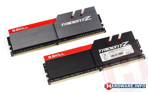 G.Skill Trident Z 16GB DDR4-3866 CL18 kit
