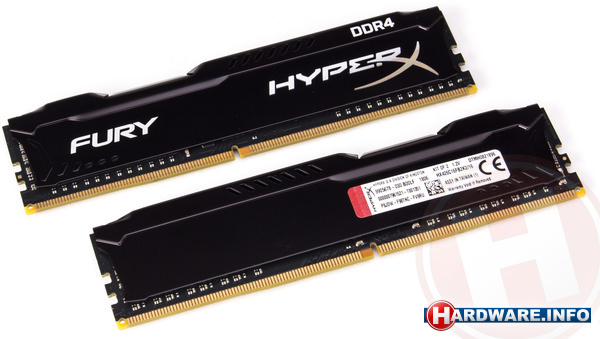 Kingston HyperX Fury Black 16GB DDR4-2666 CL16 kit