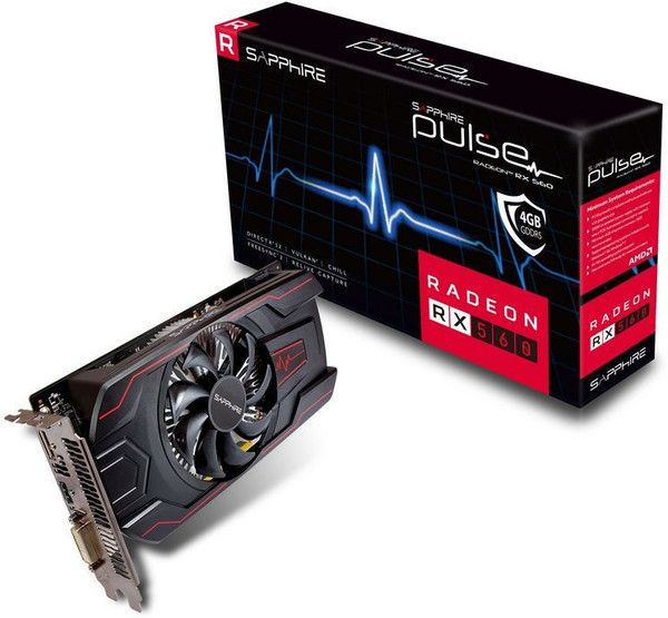 Sapphire Radeon RX 560 Pulse OC 4GB