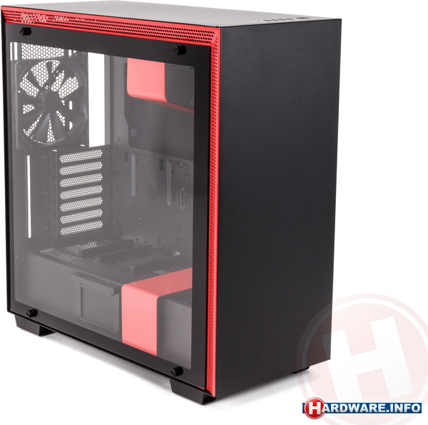 NZXT H700i Black/Red