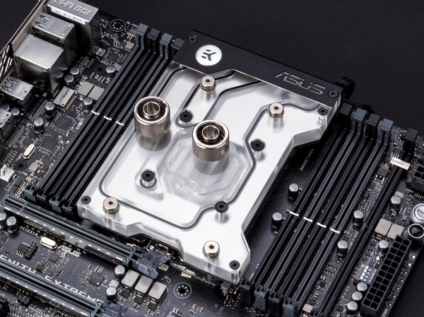 EK Waterblocks ROG ZE RGB Monoblock Nickel