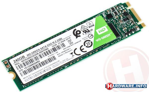 Western Digital Green 2018 240GB (M.2)