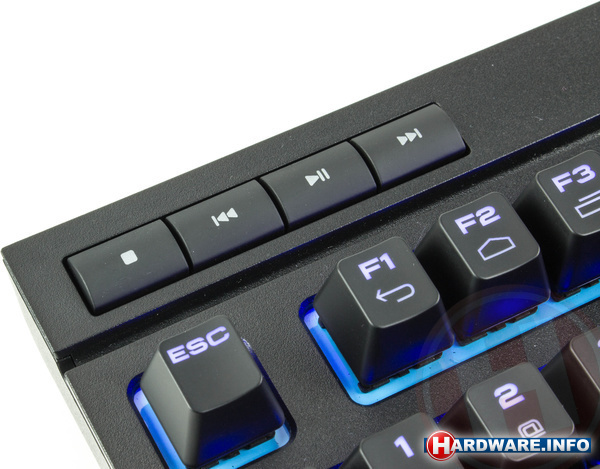 Corsair Gaming K63 Wireless Blue LED Cherry MX Red Black (US)