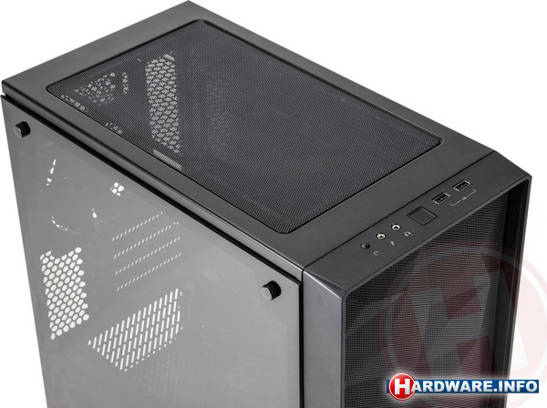 Fractal Design Meshify C Mini TG Dark Tint Black