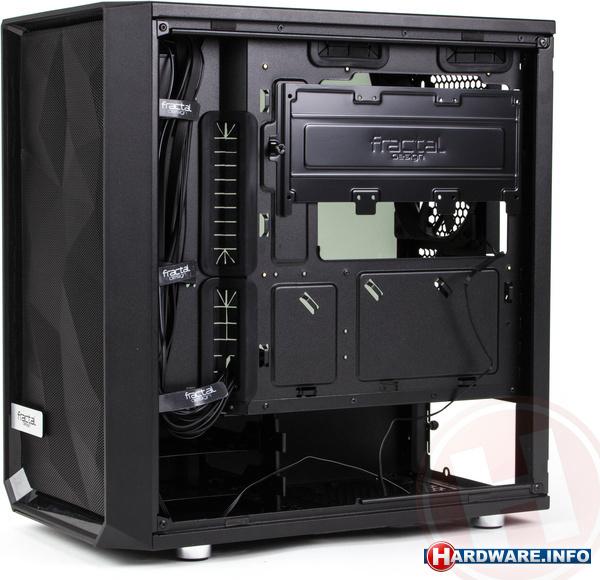 Fractal Design Meshify C Mini TG Dark Tint Black