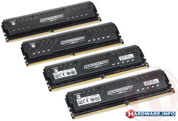 Crucial Ballistix Tactical Tracer RGB 32GB DDR4-3000 CL16 quad kit