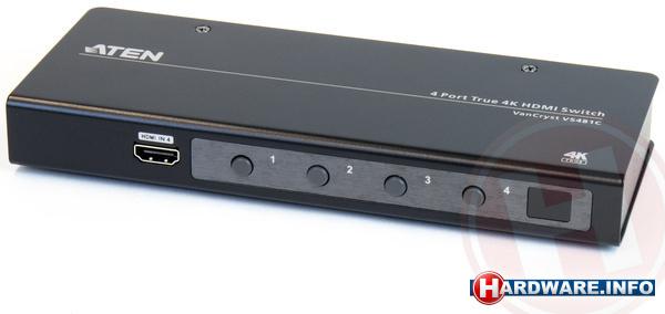 Aten VS481C-AT-G 4 Port True 4K HDMI Switch