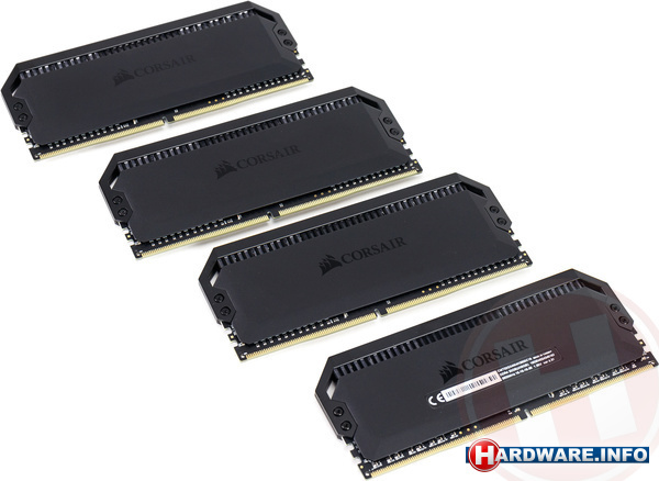 Corsair Dominator Platinum RGB 32GB DDR4-3600 CL16 quad kit