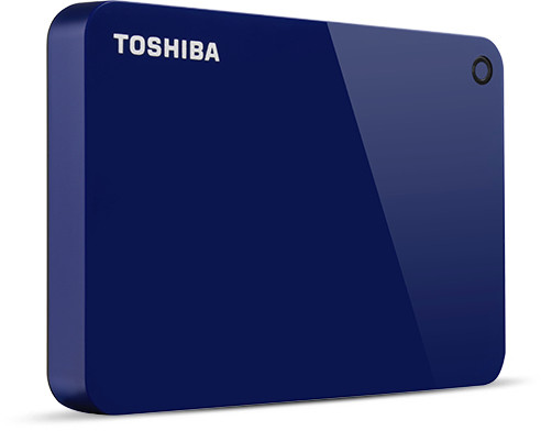 Toshiba Canvio Advance 4TB Blue