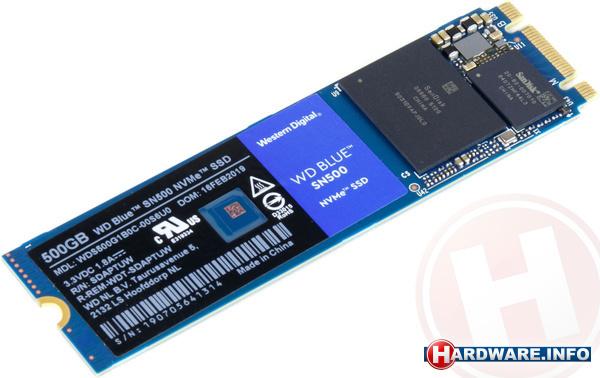 Western Digital WD Blue SN500 500GB (M.2)