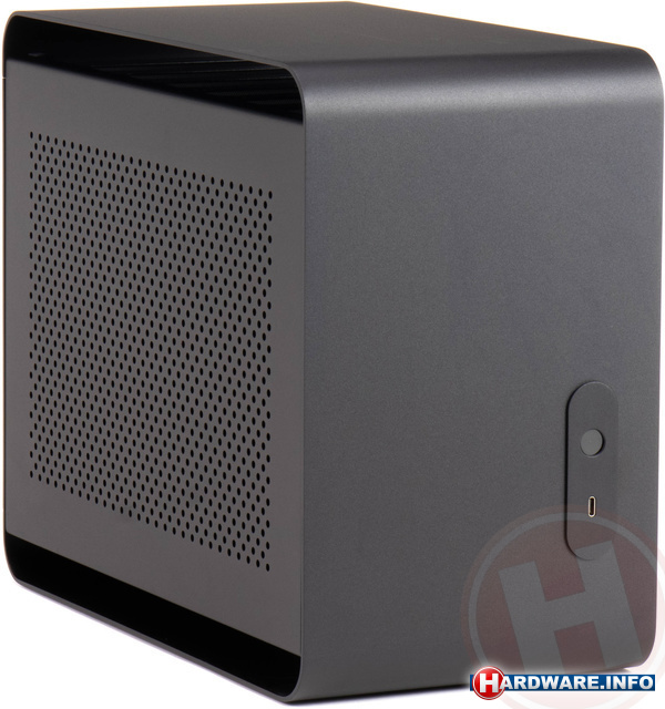 Streacom DA2 Mini-ITX Black