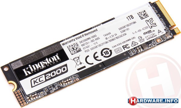 Kingston KC2000 1TB (M.2 2280)