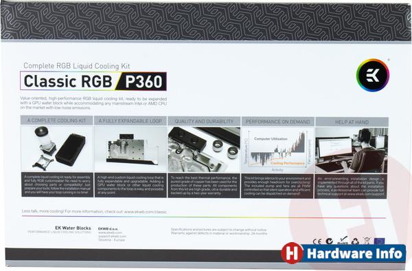 EK Waterblocks P360 RGB Classic