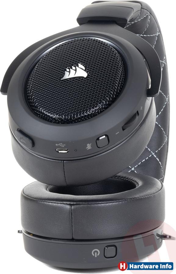Corsair HS70 Pro Wireless Headset Black