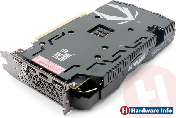 Zotac GeForce GTX 1660 Super AMP! Gaming 6GB