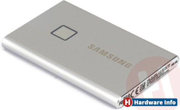 Samsung T7 Touch 500GB Silver