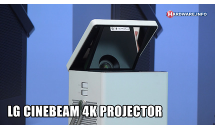 LG Cinebeam HU80KG 4K projector video review - Hardware Info