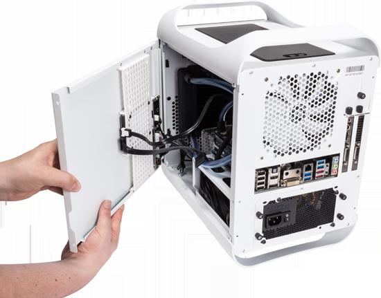 Bouw een Mini-ITX systeem met twee radiatoren