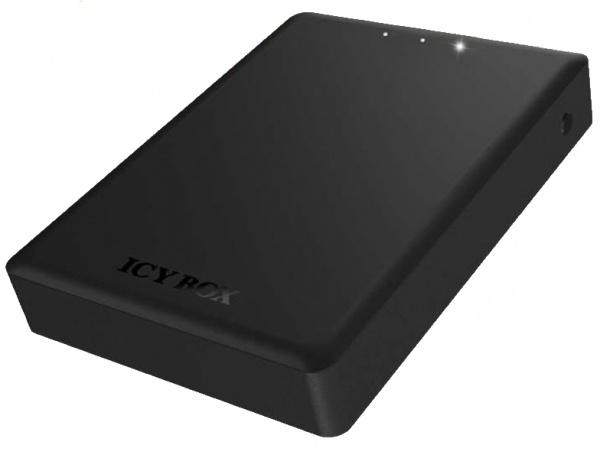 Nieuwe draadloze HDD-behuizing, draadloze kaartlezer en powerbanks van Icy Box